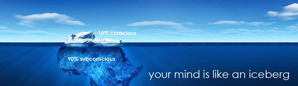 Your mind is like an Iceberg